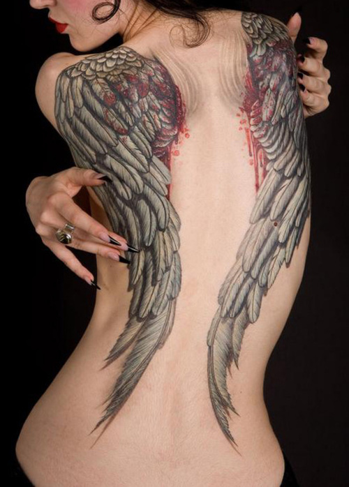 Wings Tattoos :