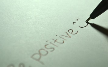 be positive, think positive, motivation