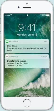 iOS 10 Rise and Wakeup